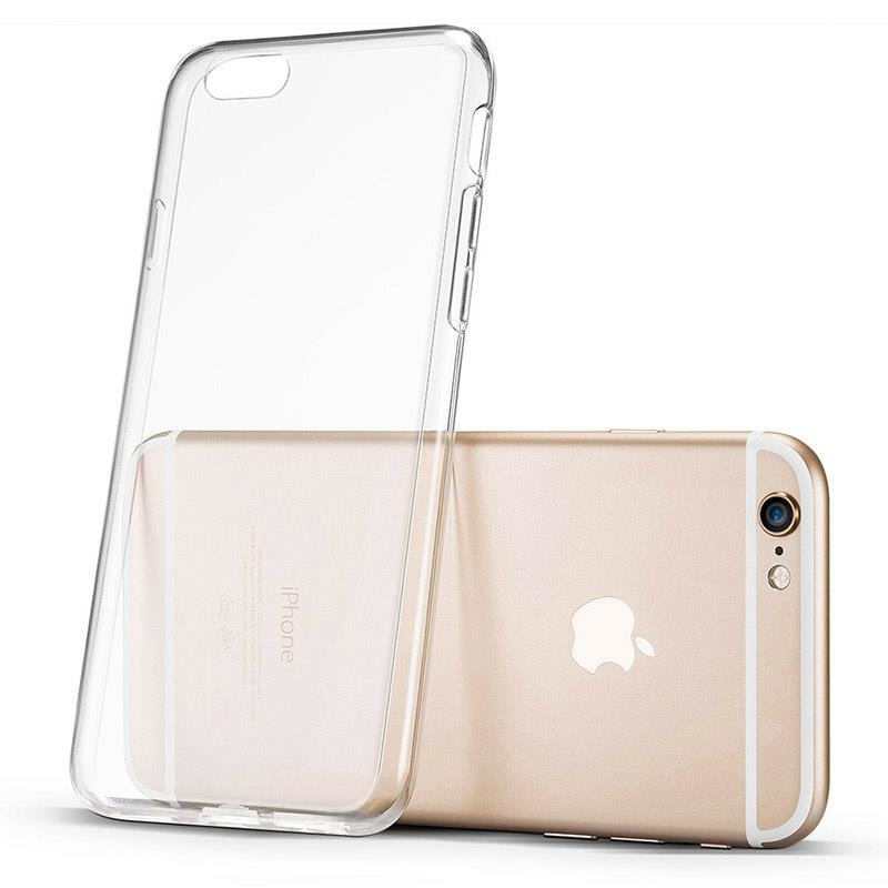 Ultratenké TPU gelové pouzdro 0,5mm pro iPhone 6S / 6 průhledný 7426825351951