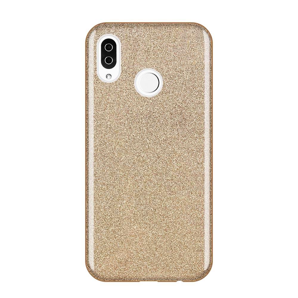 Wozinsky Glitter Shining silikonové pouzdro Samsung Galaxy A30/A50 golden