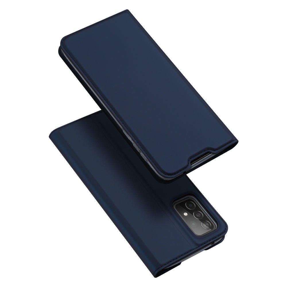 DUX DUCIS Skin knížkové pouzdro na Samsung Galaxy A52 / A52 5G blue