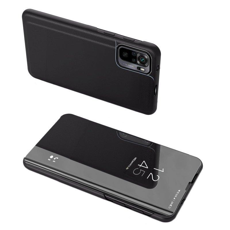 flipové pouzdro Clear View pro Xiaomi Redmi Note 10 Pro , černá 9111201932067