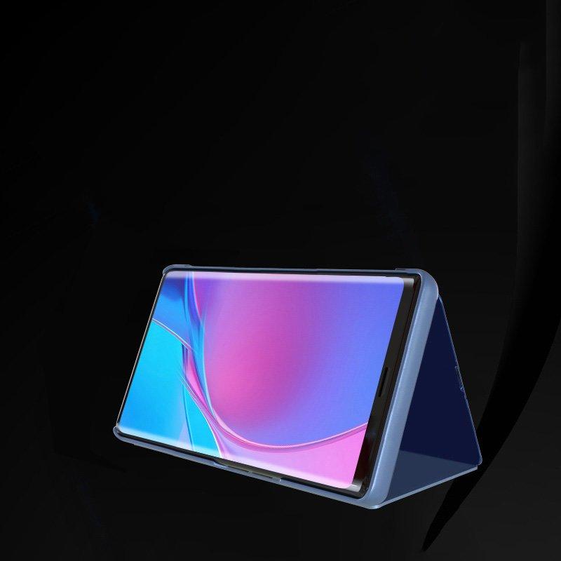 Knižkove púzdro pre Xiaomi Redmi Note 10 PRO s priehľadnou prednou stranou black