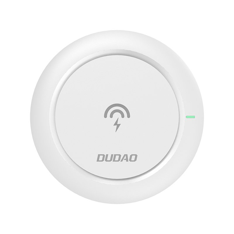 Dudao bezdrátová nabíječka Qi 10W white (A10A white)