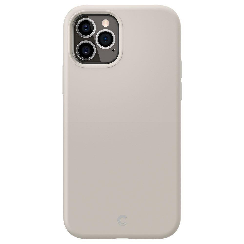 """Spigen Cyrill silikonové pouzdro na iPhone 12 / 12 Pro 6.1"""" Stone"""