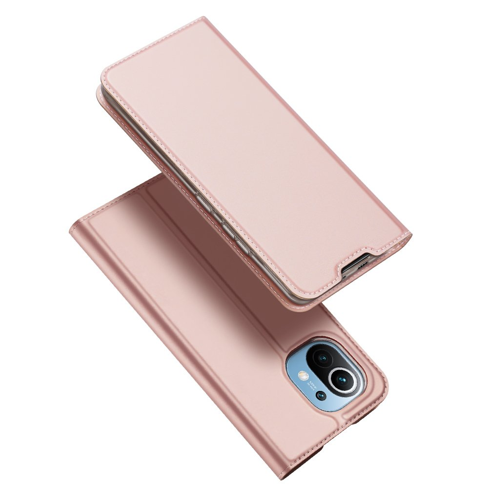 DUX DUCIS Skin knížkové pouzdro na Xiaomi Mi 11 pink