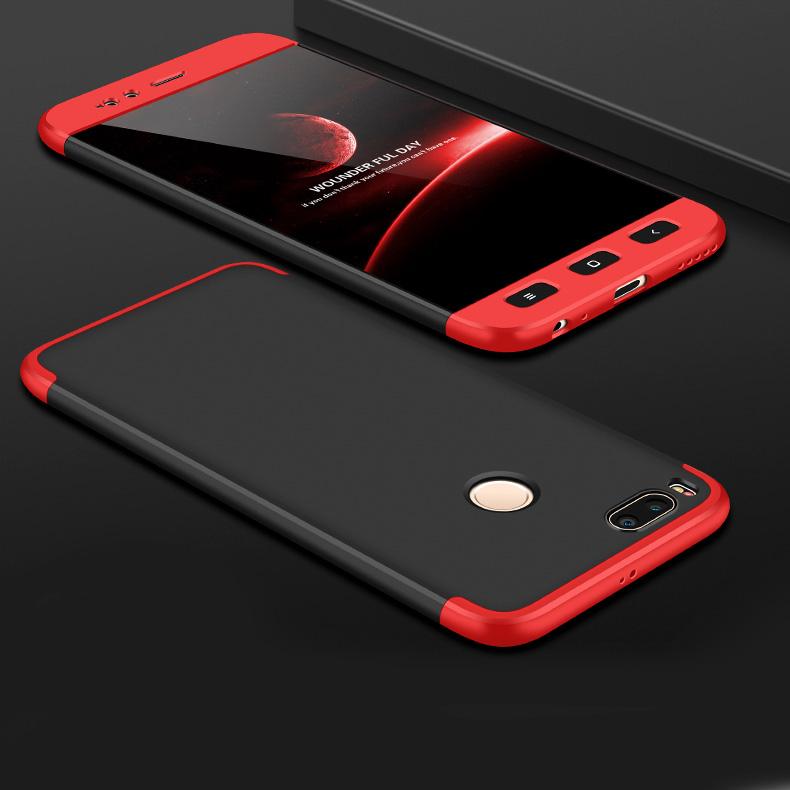 GKK 360 Protection pouzdro pro Xiaomi Mi A1 / Mi 5X black-red