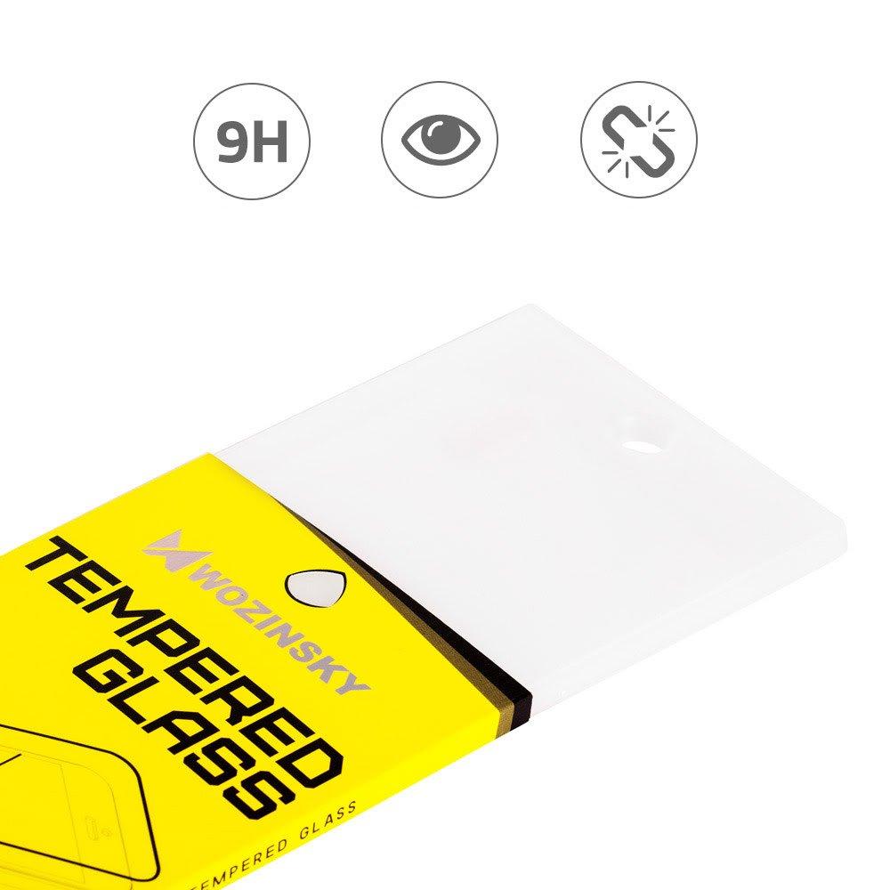Wozinsky celoplošné temperované tvrzené sklo 5D pro iPhone 11 / XR black