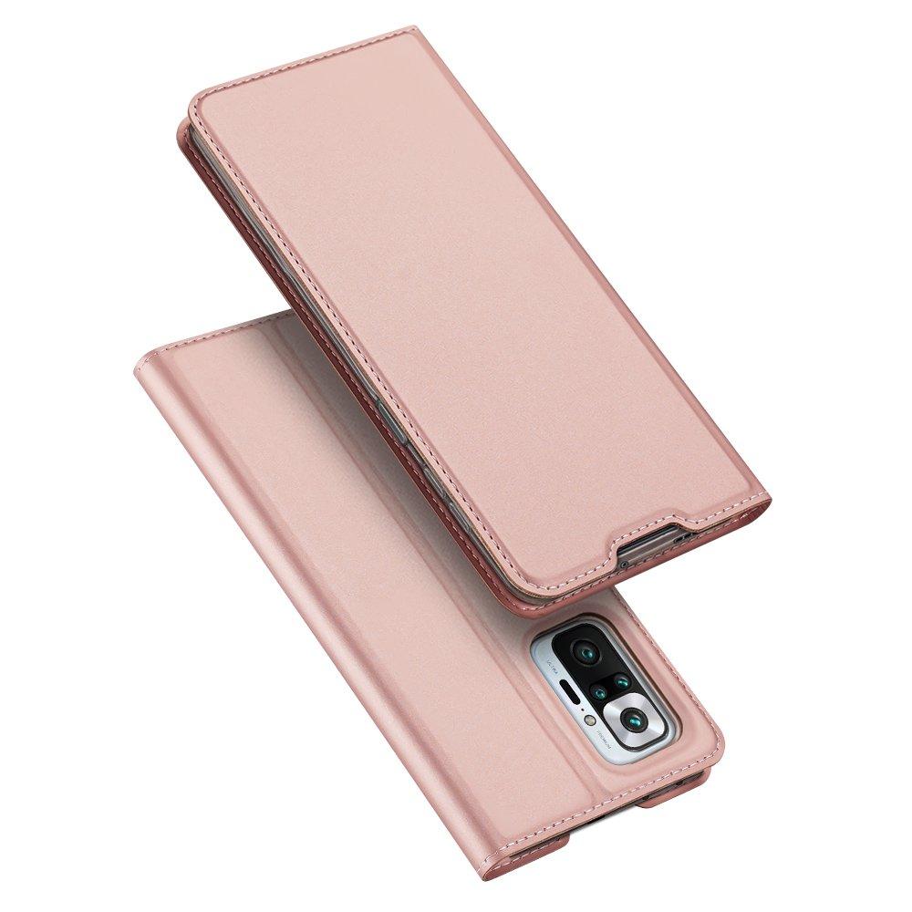 DUX DUCIS Skin knížkové púzdro preXiaomi Redmi Note 10 PRO pink