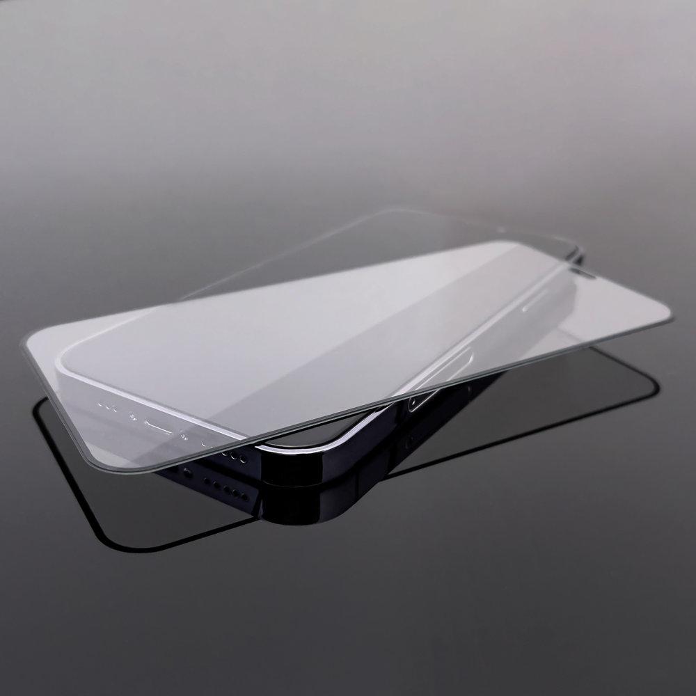 Celoplošné temperované tvrzené sklo 9H na Samsung Galaxy A21s black
