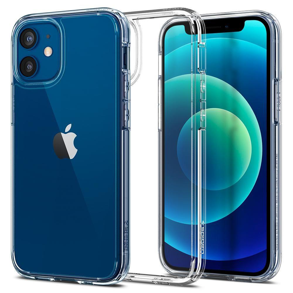 Spigen Ultra Hybrid pouzdro na iPhone 12 Mini Crystal Clear