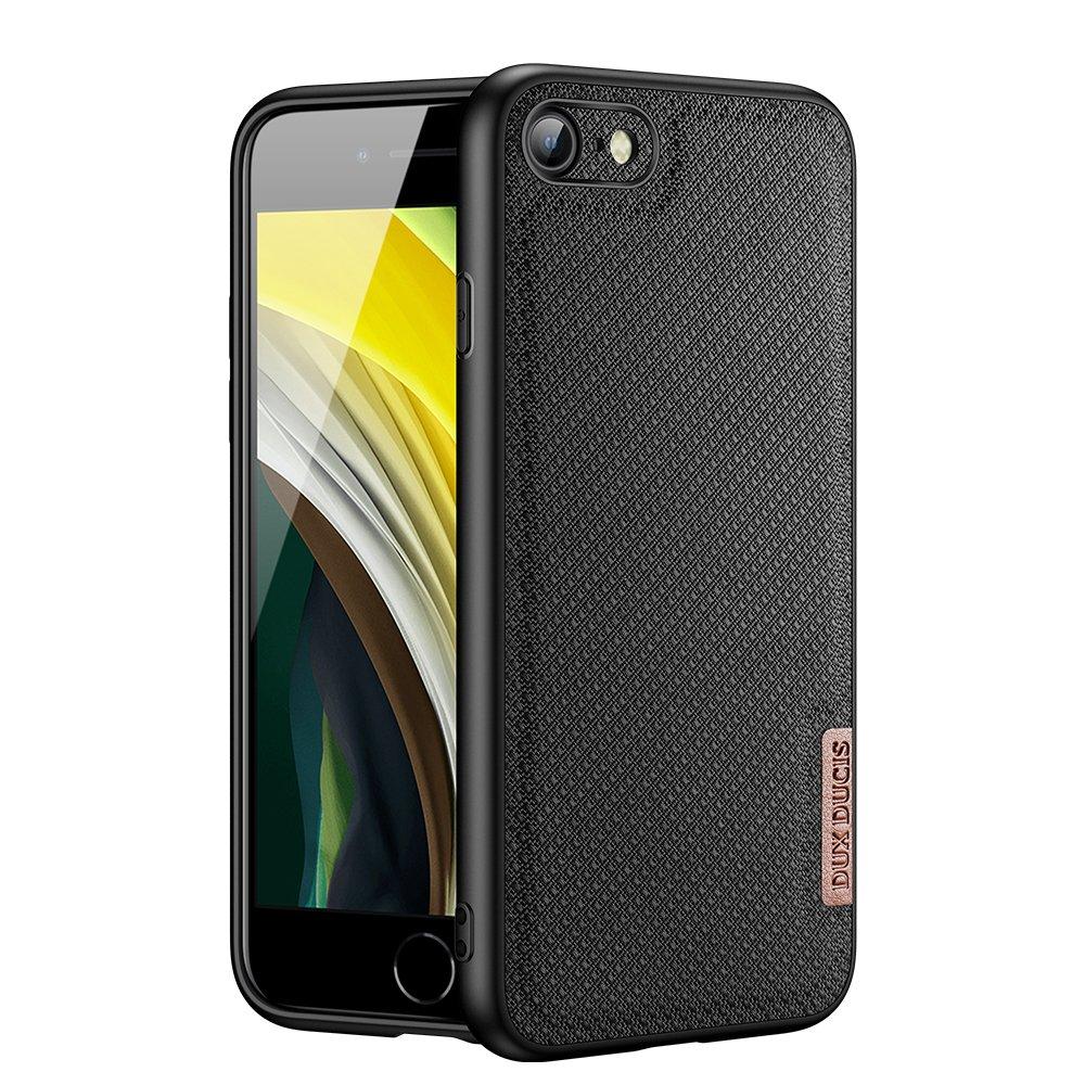 Luxusní pouzdro Dux Ducis Fino Nylon ,  iPhone SE 2020 / iPhone 8 / iPhone 7 , černá 6934913055632