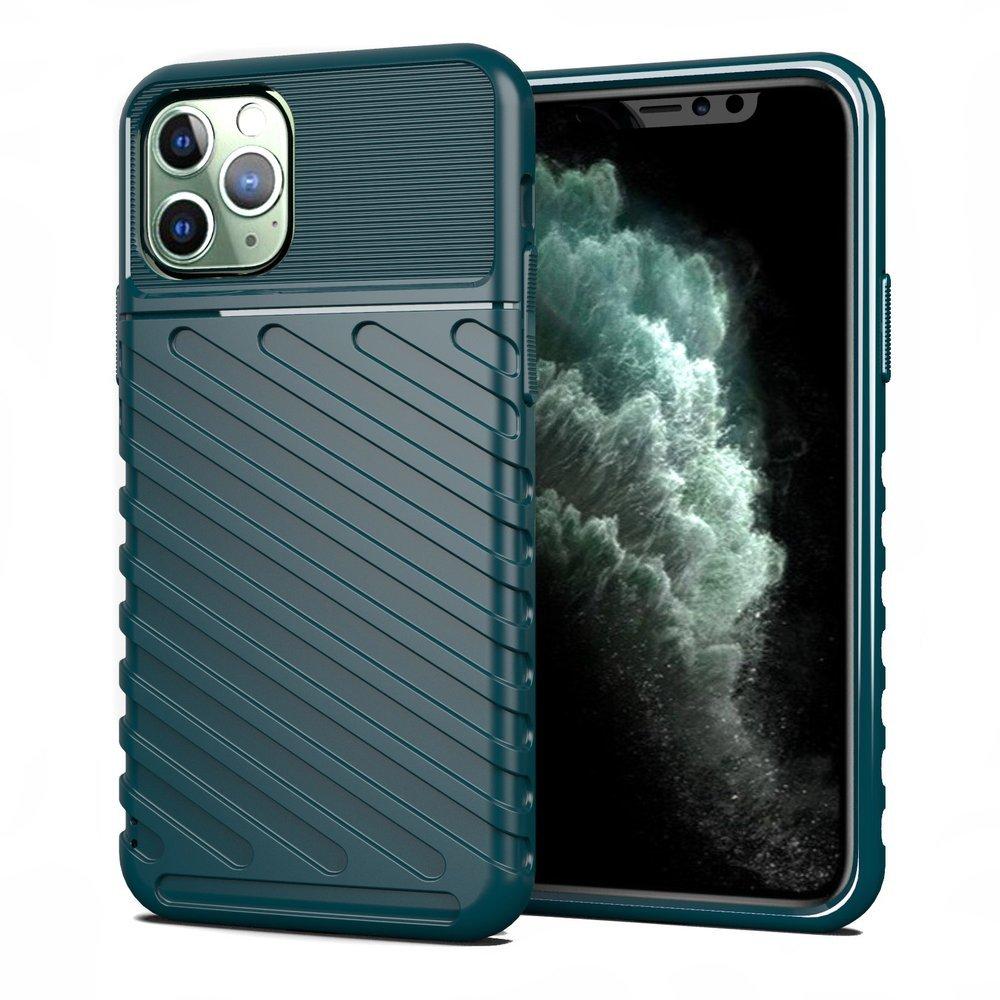 Thunder silikonové pouzdro na iPhone 11 Pro green