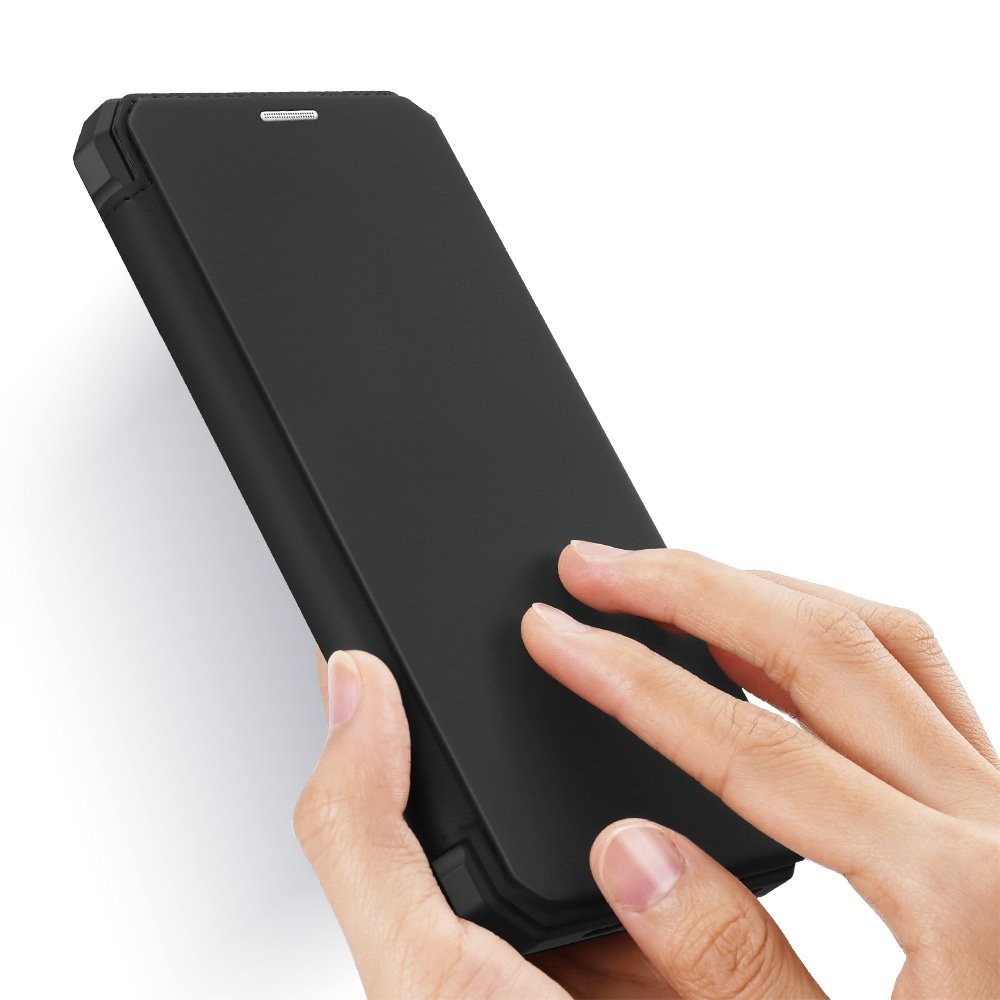 DUX DUCIS Skin X knížkové pouzdro na iPhone 12 / 12 Pro black