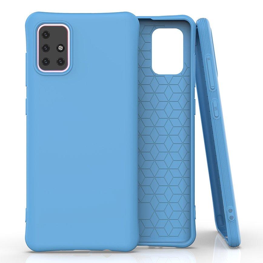 Soft Color silikonové pouzdro na Samsung Galaxy M31s blue