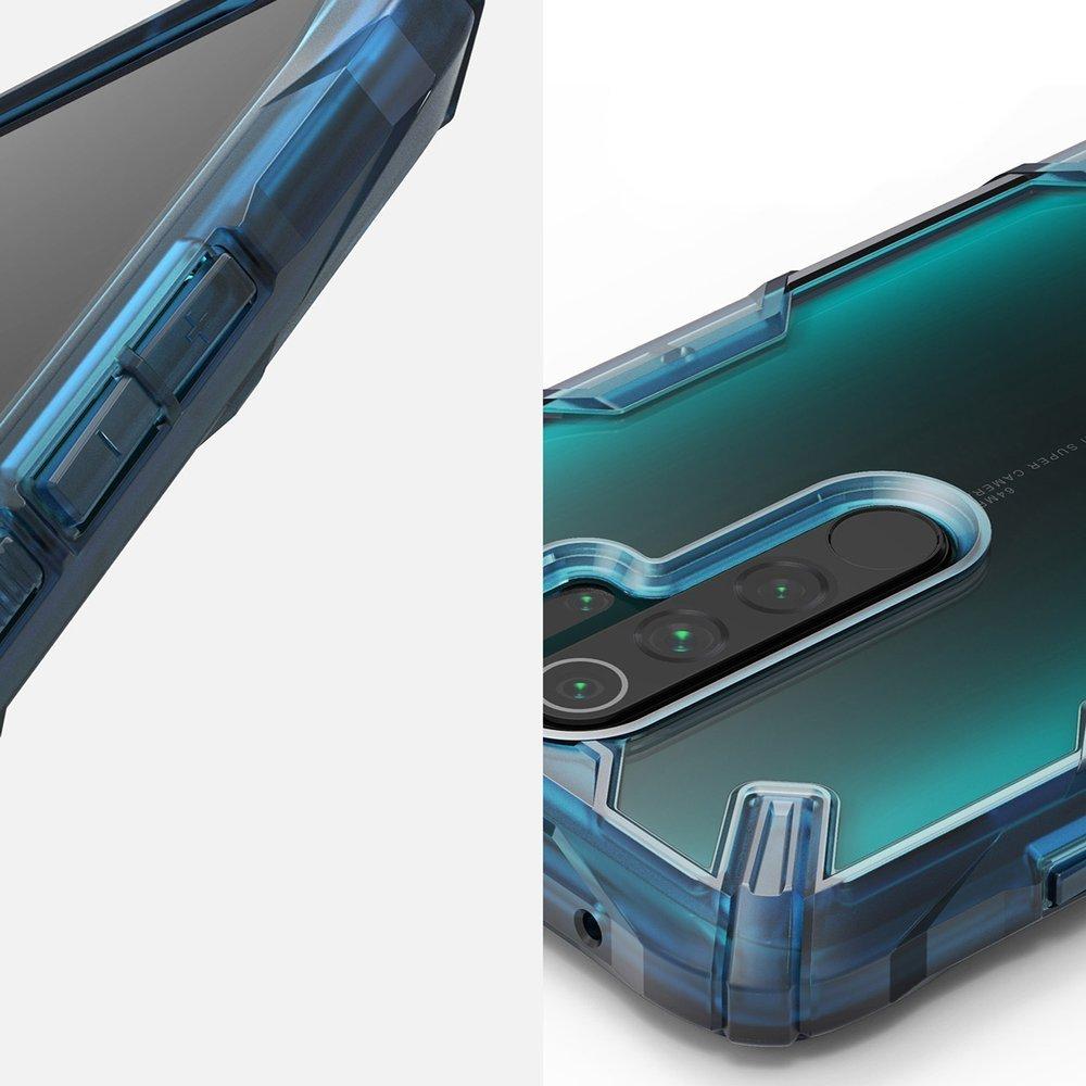Ringke Fusion X pancéřové pouzdro na Xiaomi Redmi Note 8 Pro blue