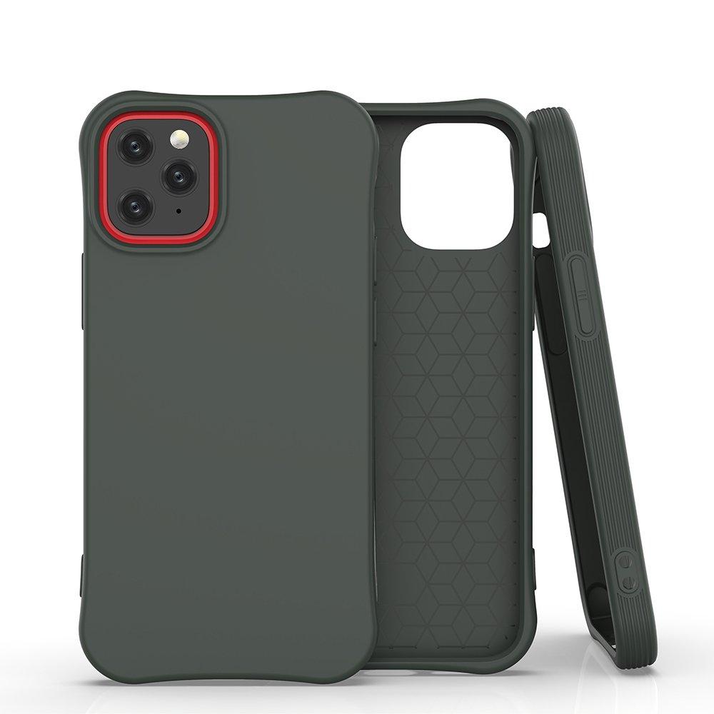 "Soft Color silikonové pouzdro na iPhone 12 / 12 Pro 6.1"" dark green"