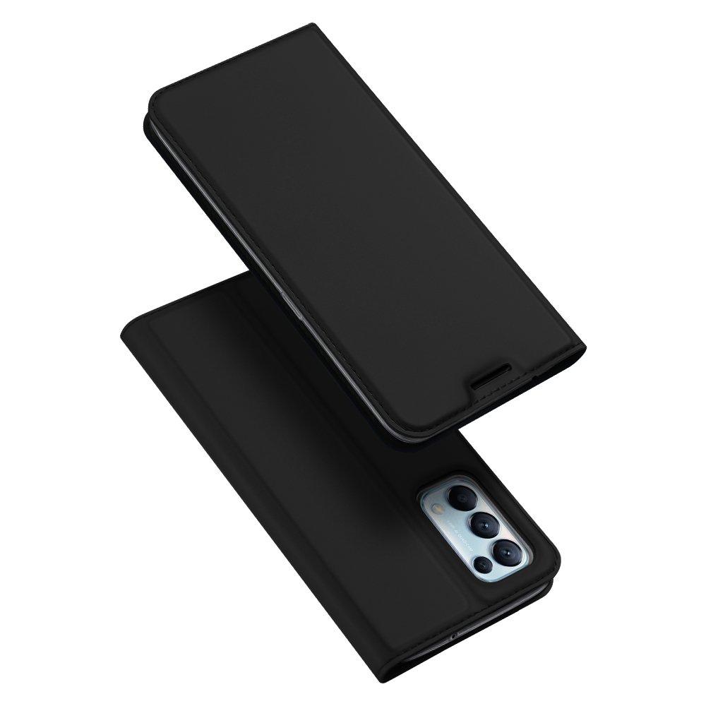 Flipové pouzdro Dux Ducis skin Oppo Reno 5 5G / Reno 5 4G / Find X3 Lite , černá