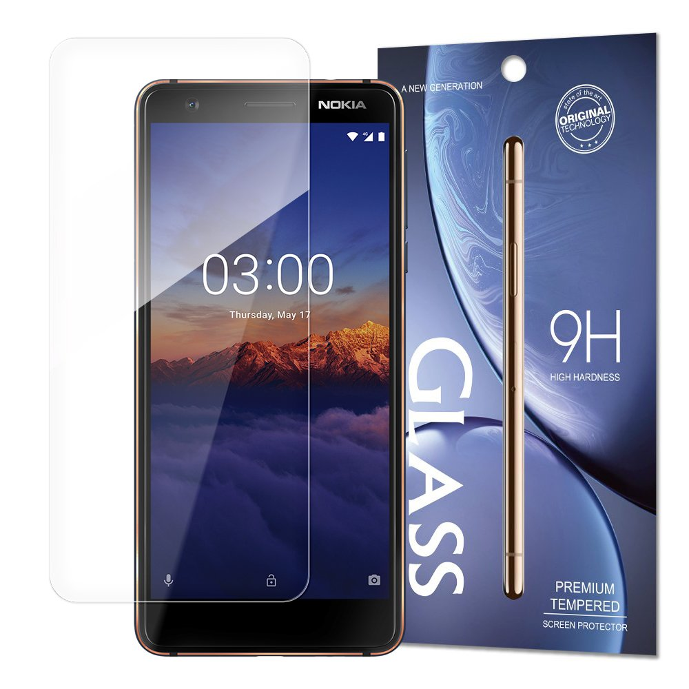 Temperované tvrzené sklo 9H pro Nokia 3.1 (baleno v obálce)