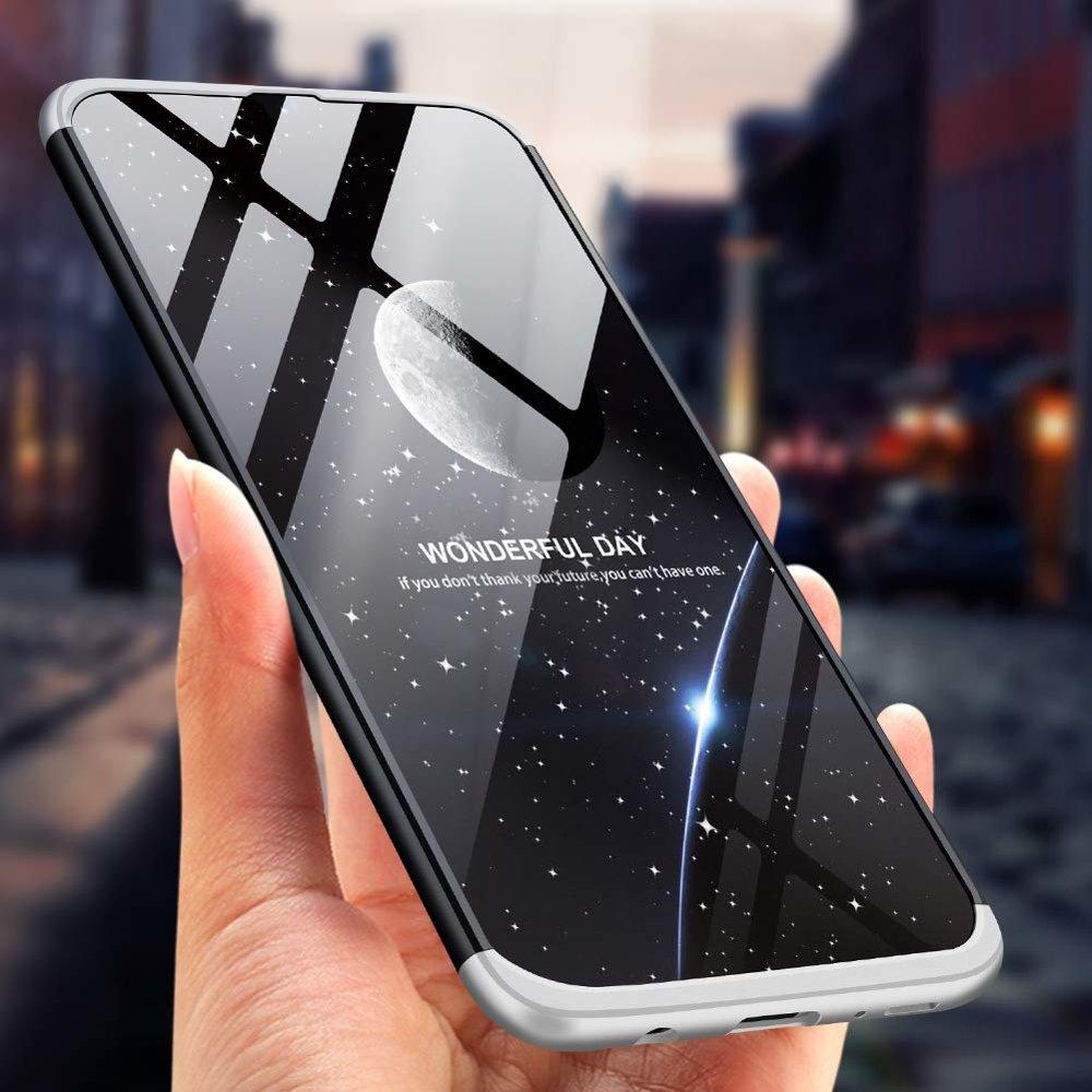 GKK 360 Protection pouzdro pro Samsung Galaxy A50 black-silver