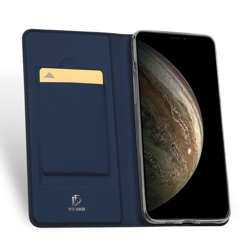 DUX DUCIS Skin knížkové pouzdro na iPhone 11 Pro blue
