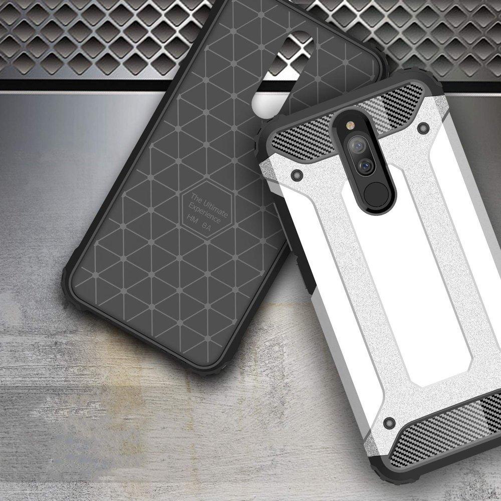 Hybrid pancéřové polykarbonátové pouzdro na Xiaomi Redmi 8A black