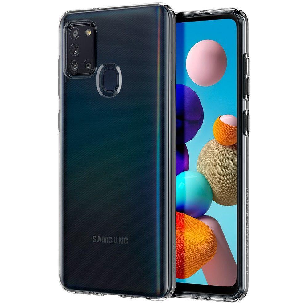 Spigen Liquid Crystal Galaxy A21s Crystal Clear 8809685629276