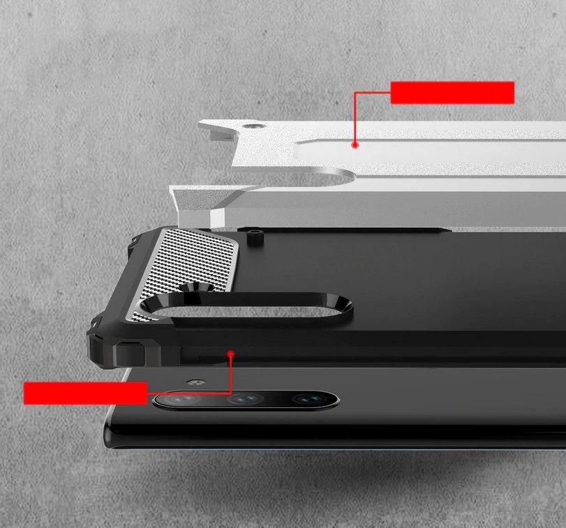 Hybrid polykarbonátové pouzdro pro Samsung Galaxy Note 10 black