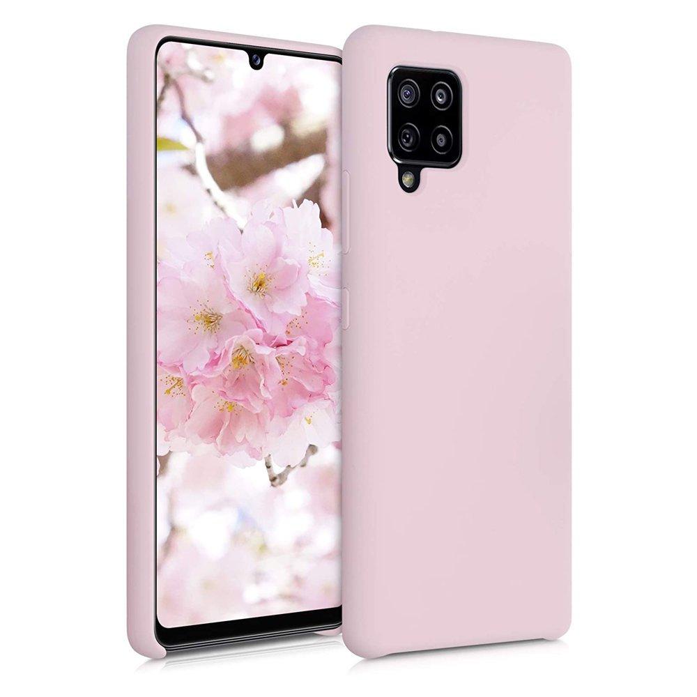 Silikonové pouzdro LUX na Samsung Galaxy A42 5G pink