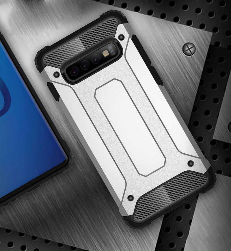 Hybrid polykarbonátové pouzdro pro Samsung Galaxy S10 Plus black