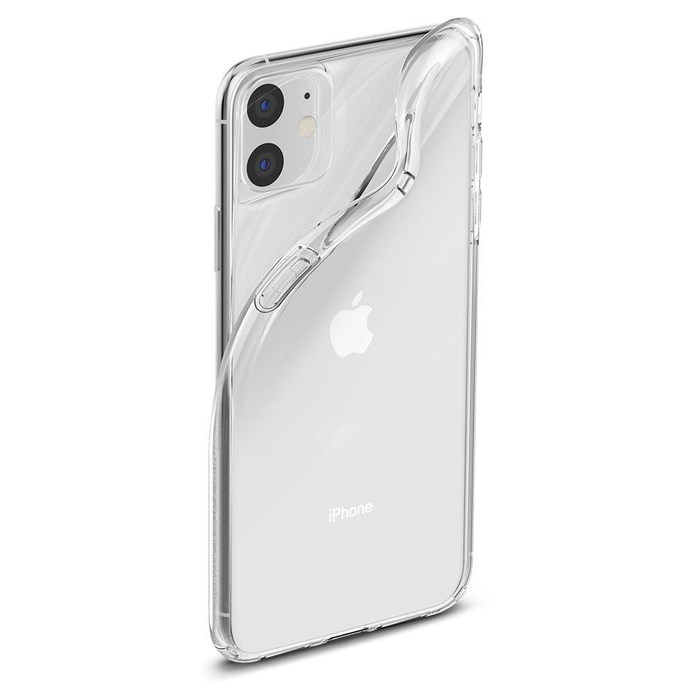 Spigen Liquid Crystal silikonové pouzdro na iPhone 11 Crystal Clear