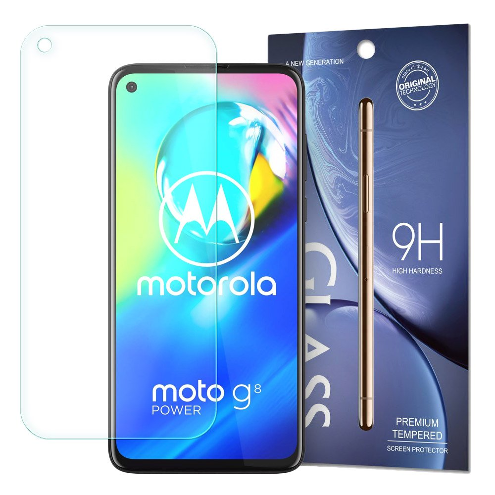 Temperované tvrzené sklo 9H pro Motorola Moto G8 Power 9111201895508