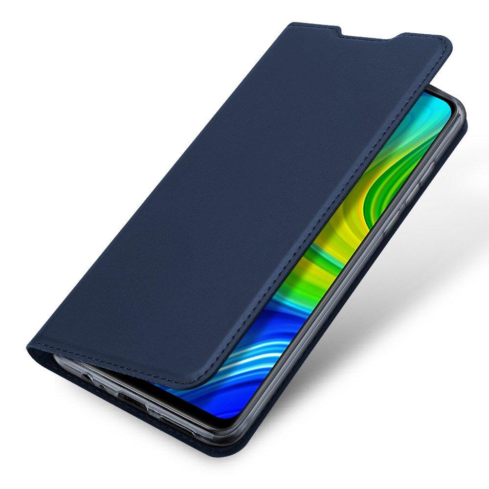 DUX DUCIS Skin knížkové pouzdro na Xiaomi Redmi Note 9 / Redmi 10X 4G blue
