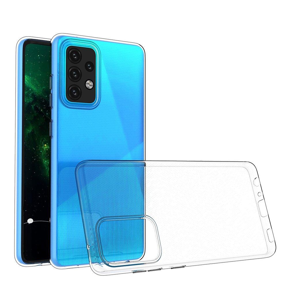 Ultra Clear 0.5mm silikónové puzdro pre Samsung Galaxy A52 / A52 5G transparent