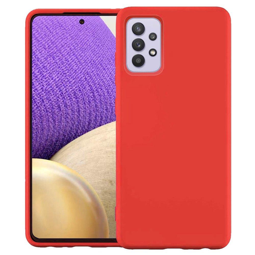 Silikónové púzdro LUX na Samsung Galaxy A32 4G red