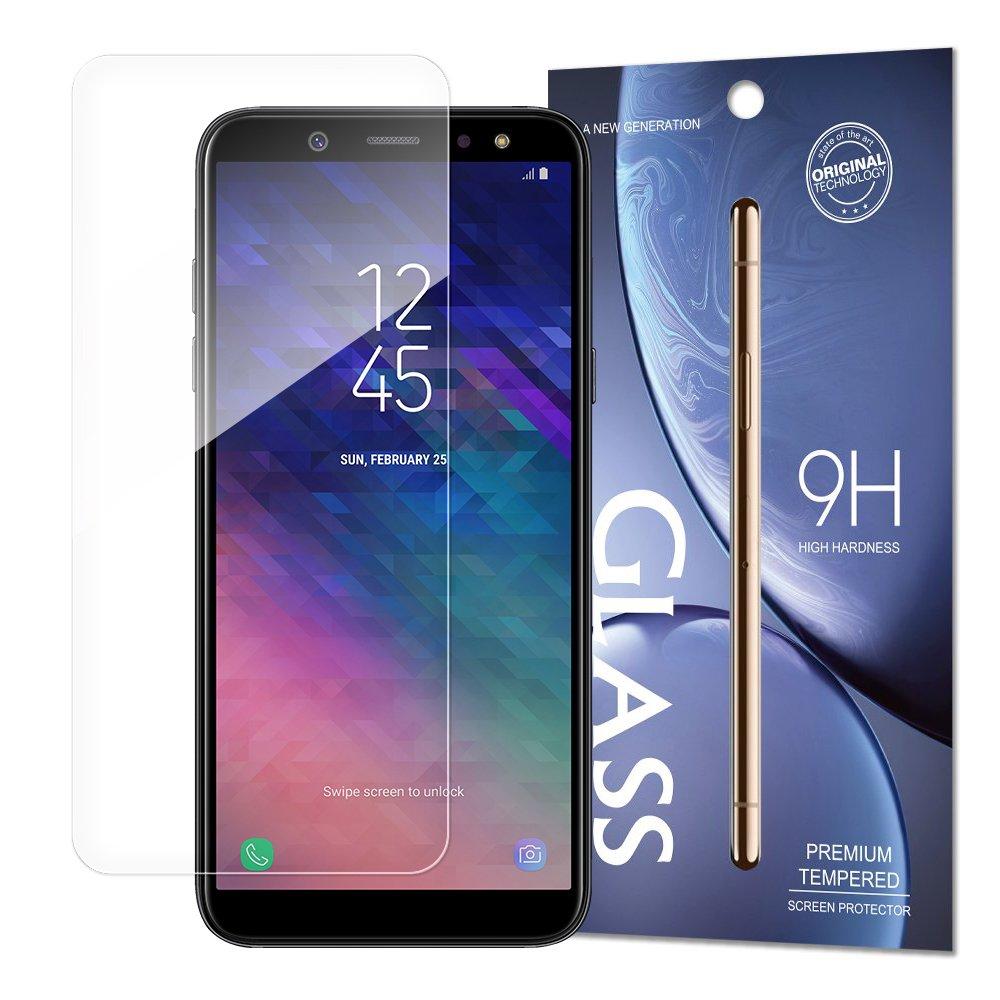 Temperované tvrzené sklo 9H pro Samsung Galaxy A6 2018 A600 (baleno v obálce)