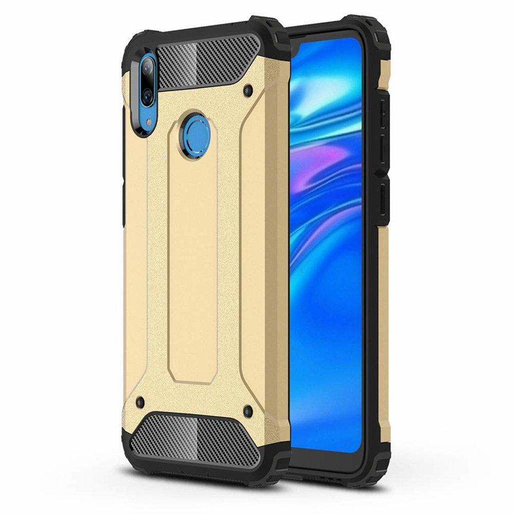 Hybrid polykarbonátové pouzdro Huawei Y6 2019 golden