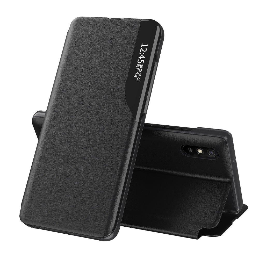 Knížkové pouzdro s imitací kůže na Xiaomi Poco X3 Pro / X3 NFC black