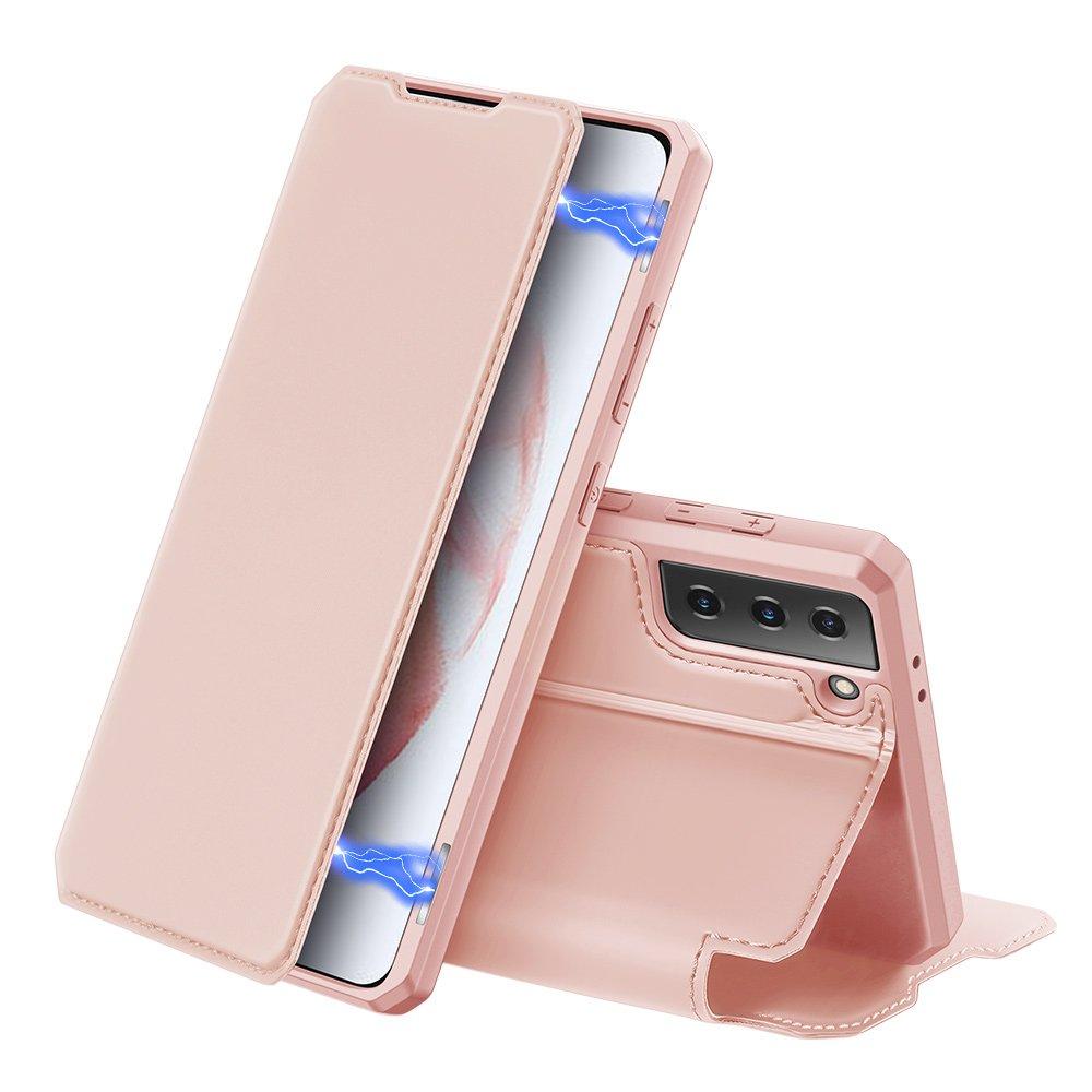 DUX DUCIS Skin X knížkové pouzdro na Samsung Galaxy S21 5G pink