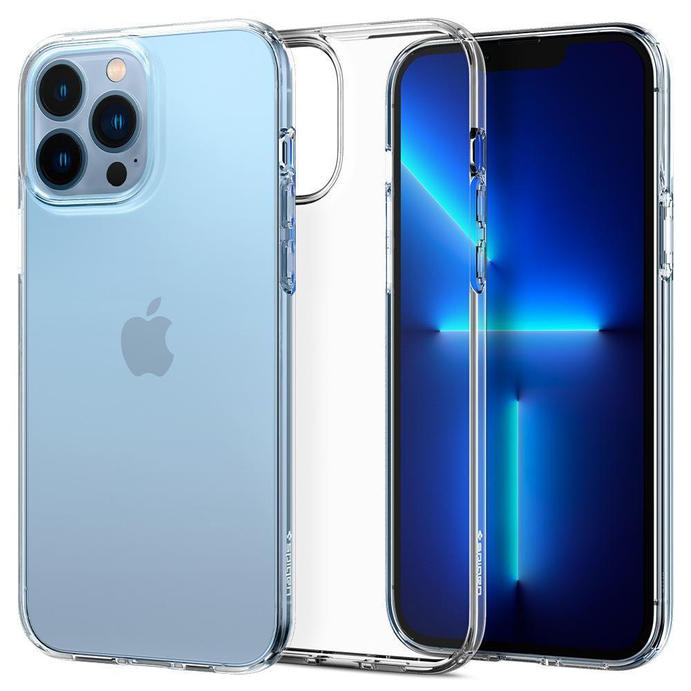 "Spigen Liquid Crystal silikonové púzdro preiPhone 13 Pro MAX 6.7"" Crystal clear"