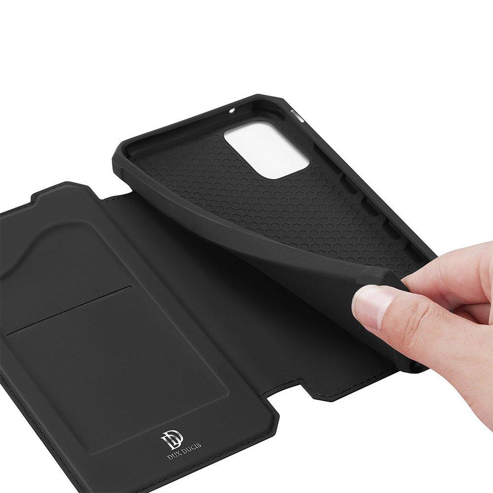 DUX DUCIS Skin X knížkové pouzdro na Samsung Galaxy A41 black