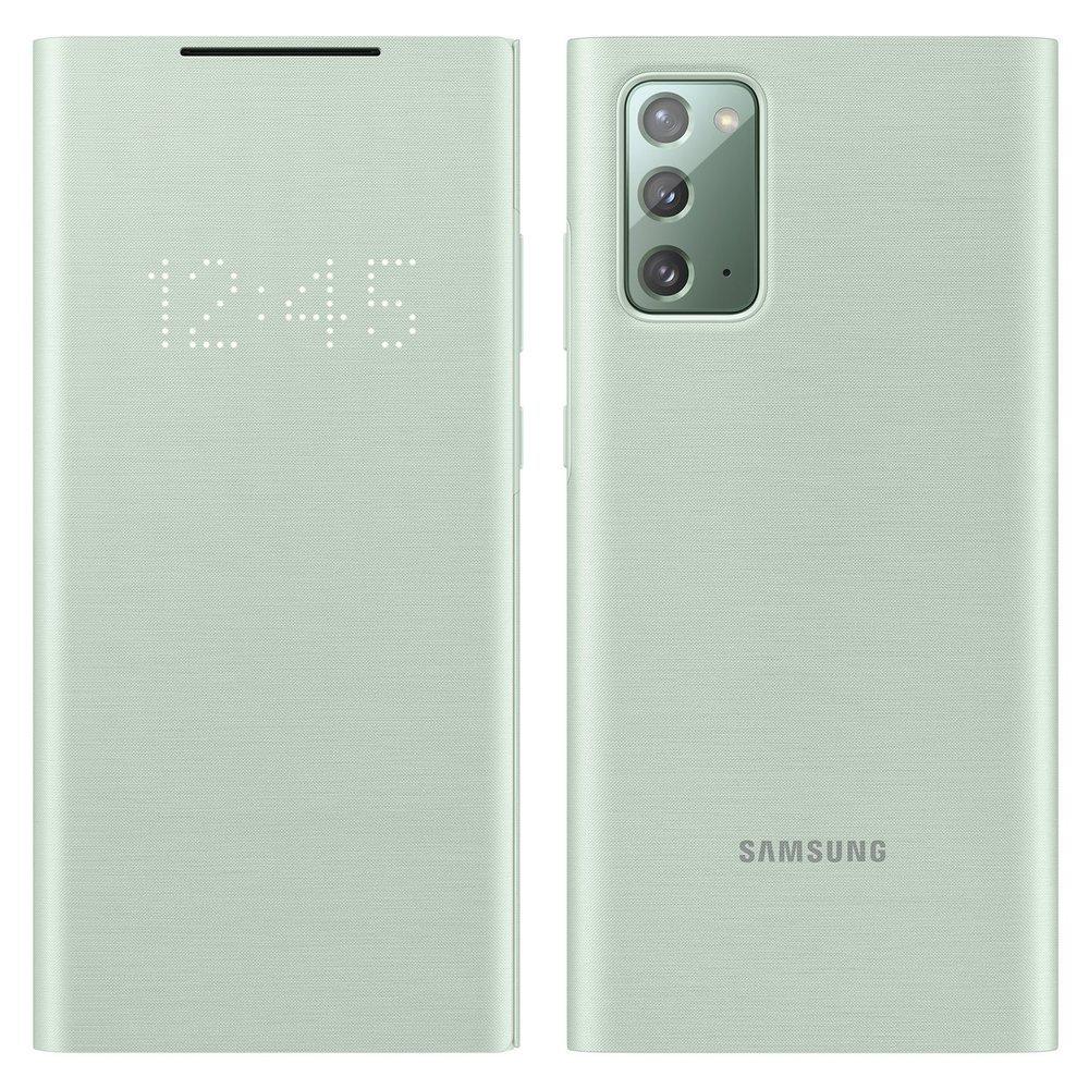 Samsung LED View zaštita with LED display for Samsung Galaxy Note 20 zelena (EF-NN980PMEGEU)