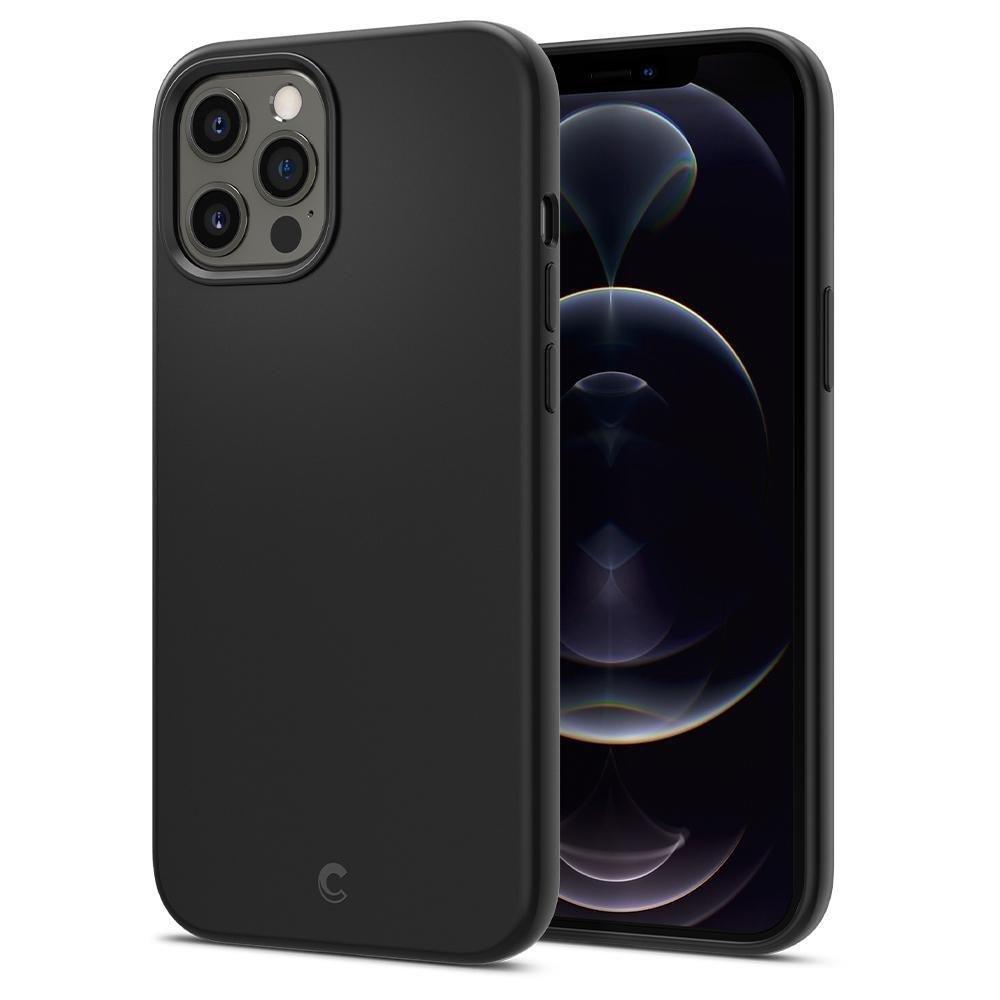 """Spigen Cyrill silikonové pouzdro na iPhone 12 / 12 Pro 6.1"""" Black"""