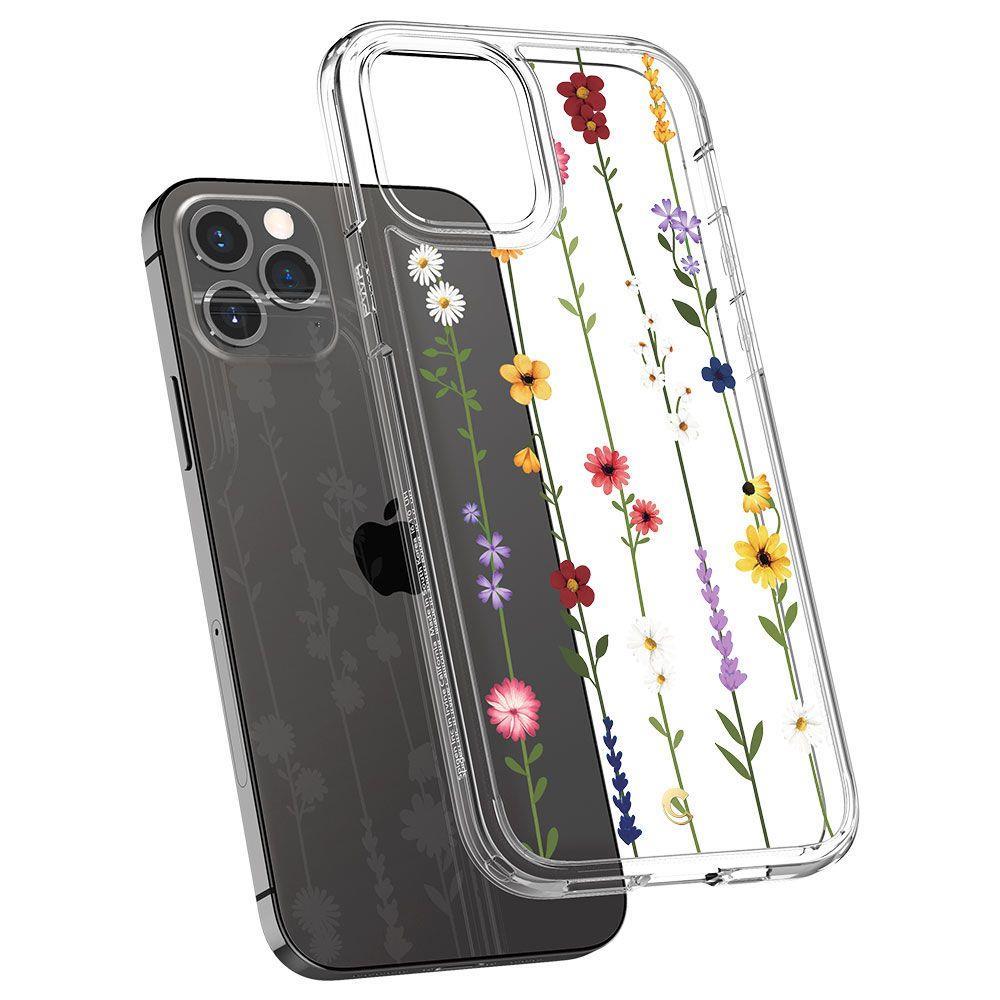 Spigen Cyrill Cecile silikonové pouzdro na iPhone 12 / 12 Pro Flower Garden