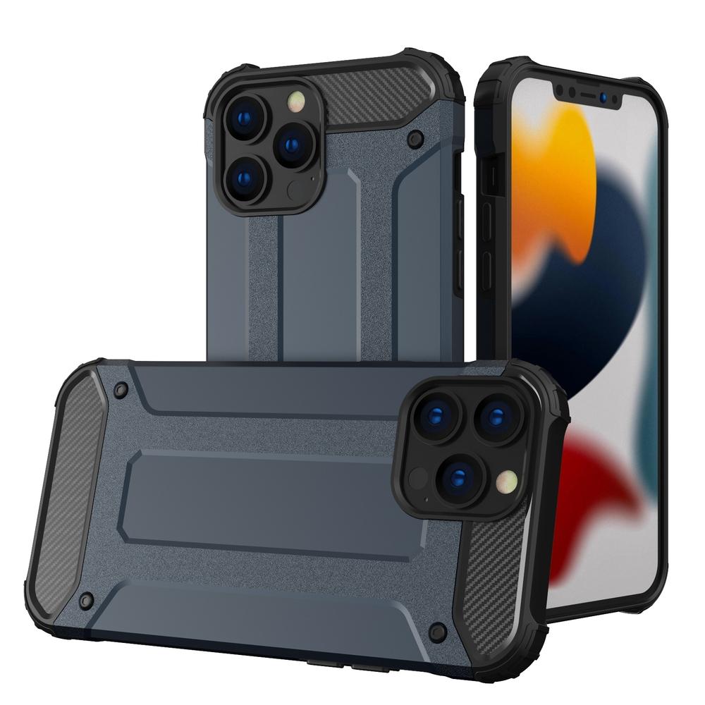 """Hybrid pancierové polykarbonátové púzdro preiPhone 13 Pro MAX 6.7"""" blue"""