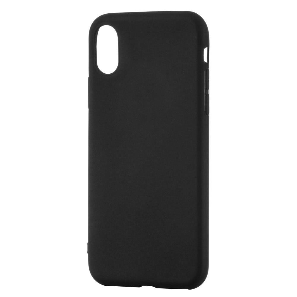 Soft Matt silikonové pouzdro pro Xiaomi Redmi Note 8 Pro black