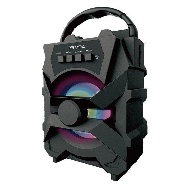 Proda Xunshen prenosný reproduktor Bluetooth black (PD-S500 black)