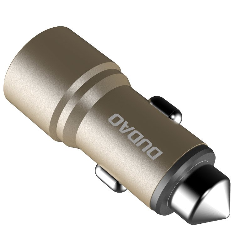 CL adaptér Dudao R5 3,1A 2 x USB Gold