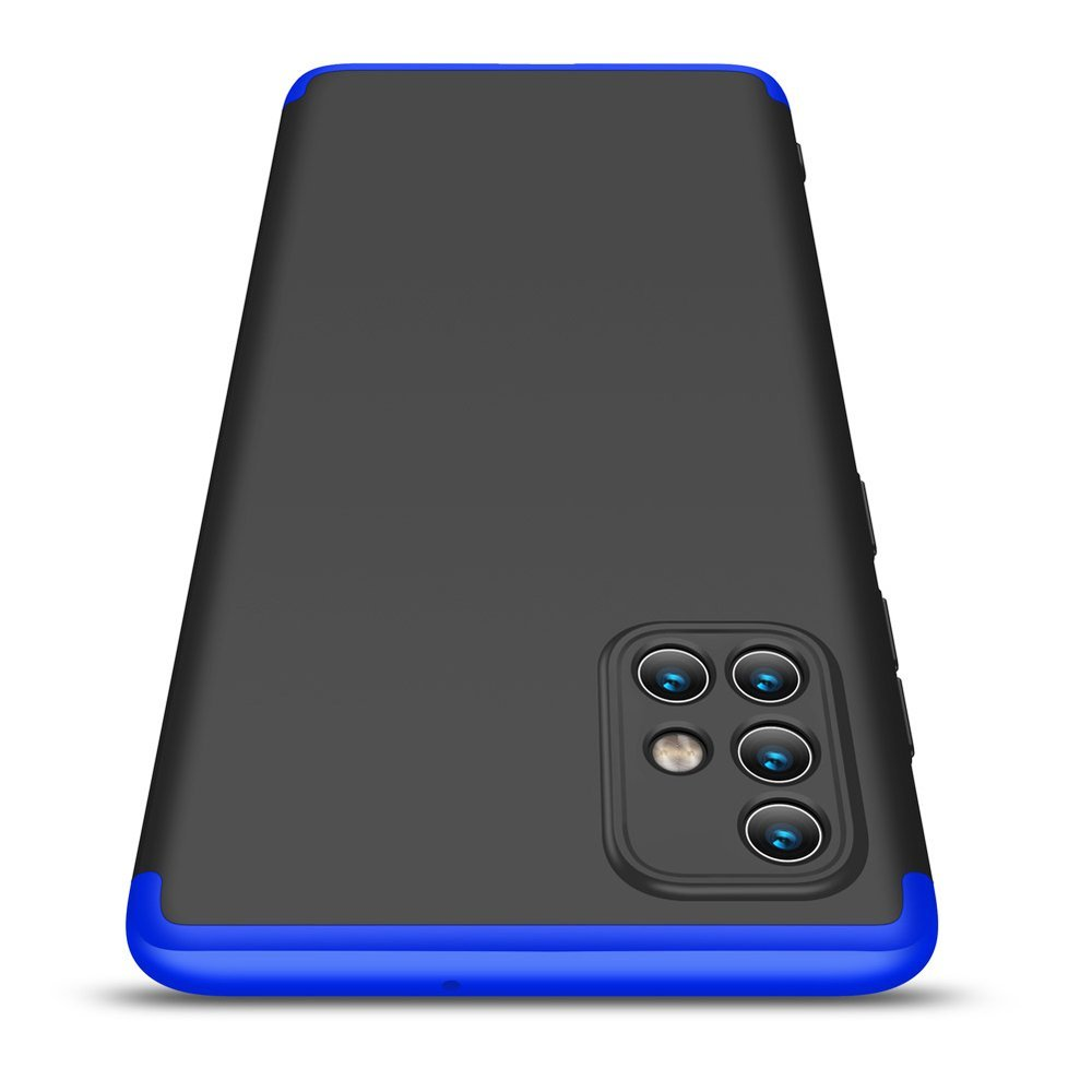 GKK 360 Protection pouzdro na Samsung Galaxy A71 black-blue