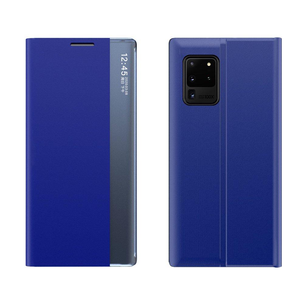 New Sleep knížkové púzdro pre Samsung Galaxy Note 20 blue