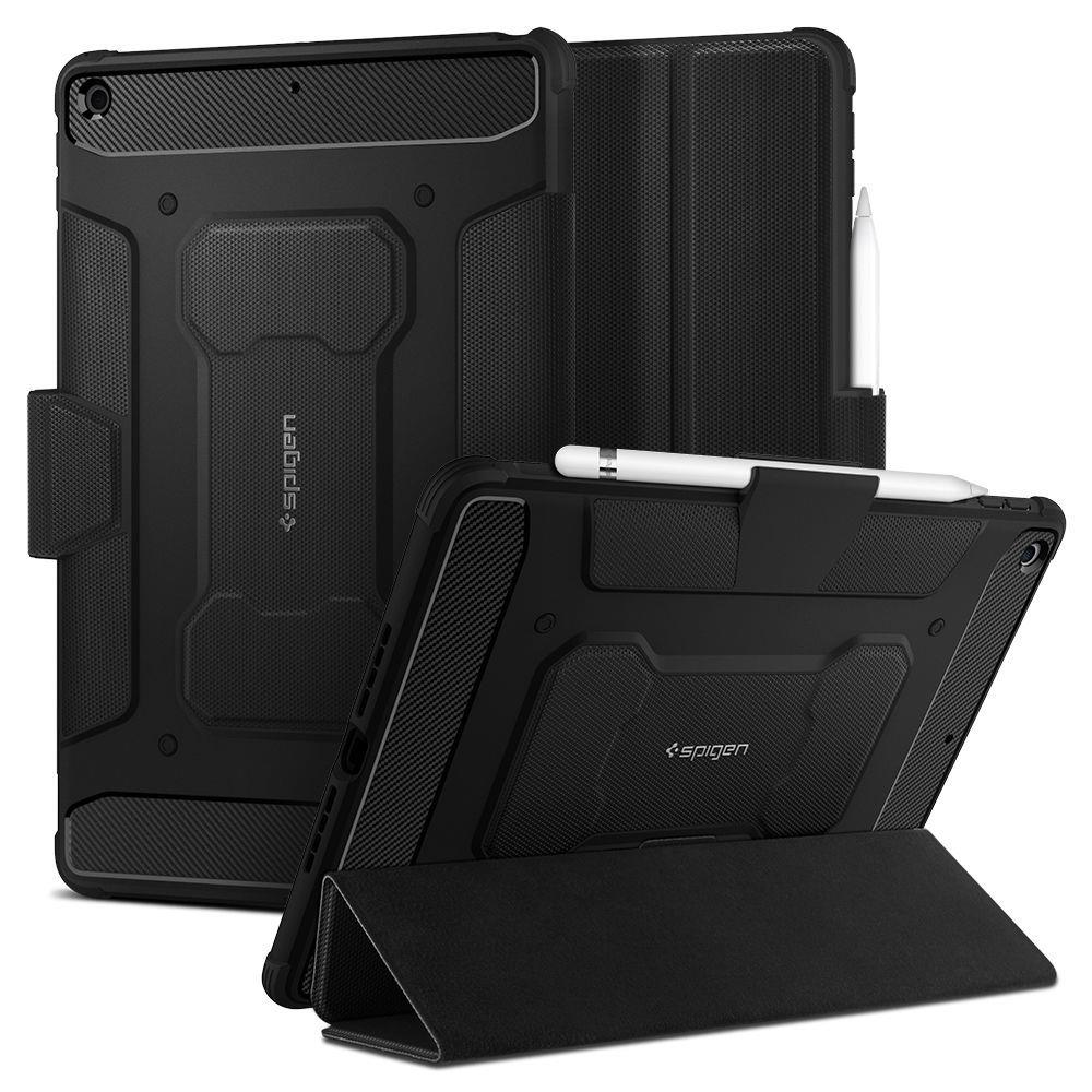 "Spigen Rugged Armor ""Pro"" Ipad 10.2 2019 Black 8809710751194"