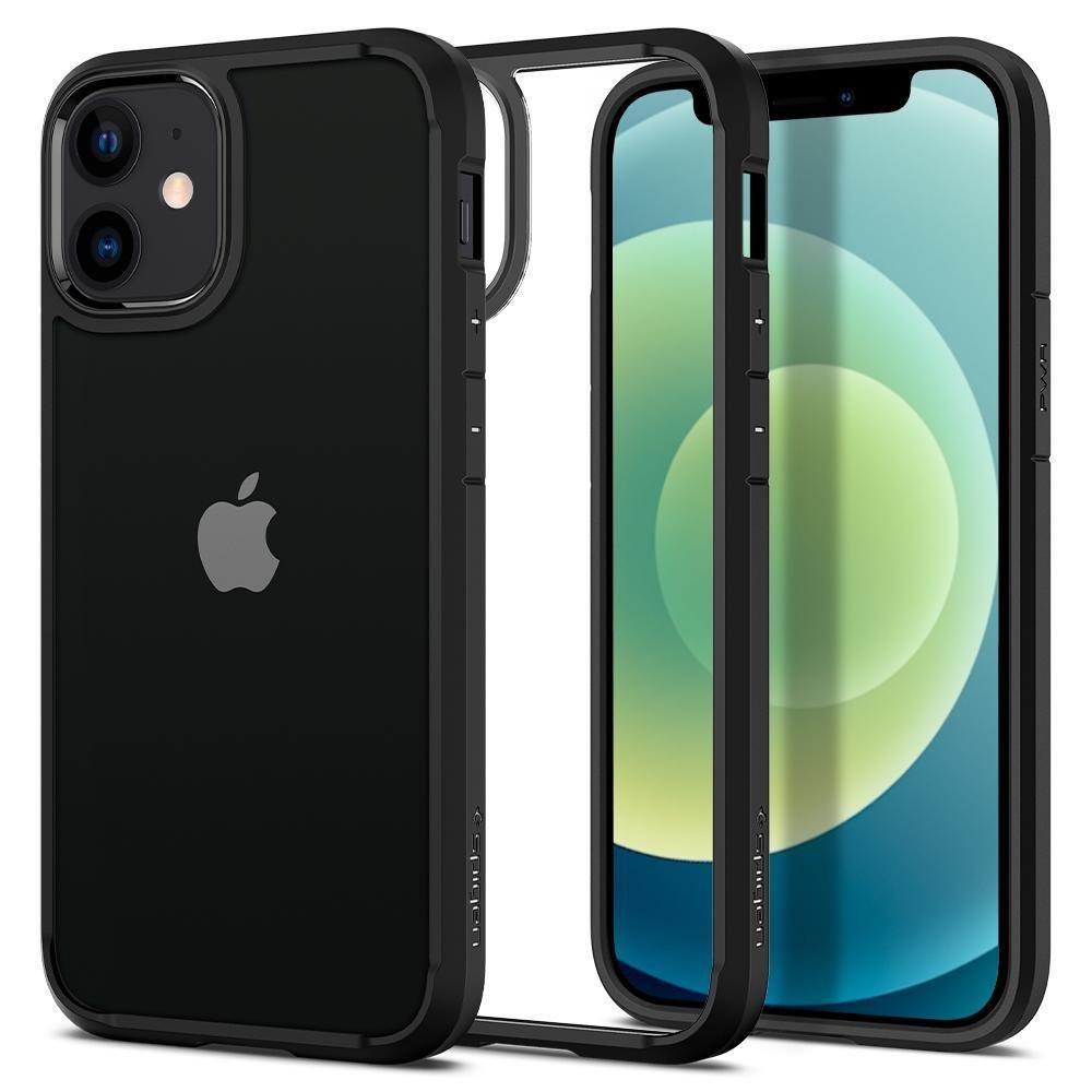 Spigen Ultra Hybrid pouzdro na iPhone 12 Mini Matte Black